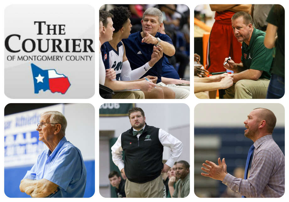 Clifton McNeely (College Park), Dale Reed (The Woodlands), Darwood Heldmann (Covenant), Tanner Field (TWCA) and Derek Cain (Magnolia) are The Courier's nominees for Coach of the Year.