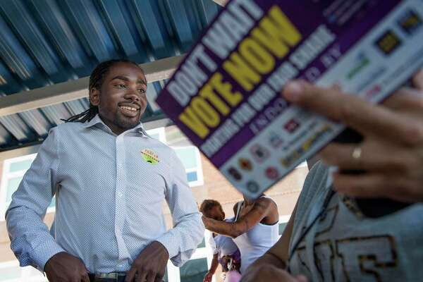 """D.C. Council member Trayon White, seen here during his 2016 campaign, said the recent controversy """"has been a learning experience for me."""""""