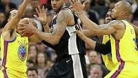 Spurs down Warriors 89-75 behind Aldridge's big fourth quarter - Photo