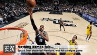 Postgame Wrap: Lineup change paying off for Spurs - Photo