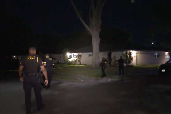 Police believe that a son killed his father during an argument on Sylmar in Southwest Houston Tuesday morning, March 20, 2018.
