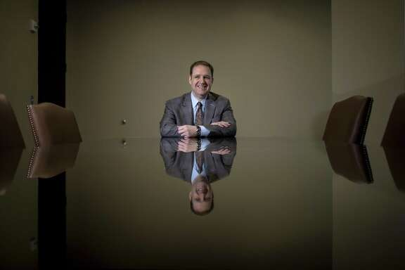 Rex Burch poses for a portrait at the offices of the Bruckner Burch law firm, Tuesday, Feb. 20, 2018, in Houston.  ( Jon Shapley / Houston Chronicle )