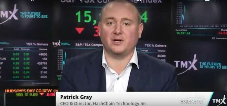 Patrick Gray is CEO of HashChain Technology, a crypto currency mining and services company. Photo: Rulison, Larry