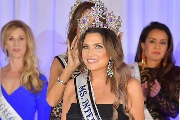 Jolyn Farber, a former Houston lawyer, took home the top prize in this year's Ms. International Pageant.