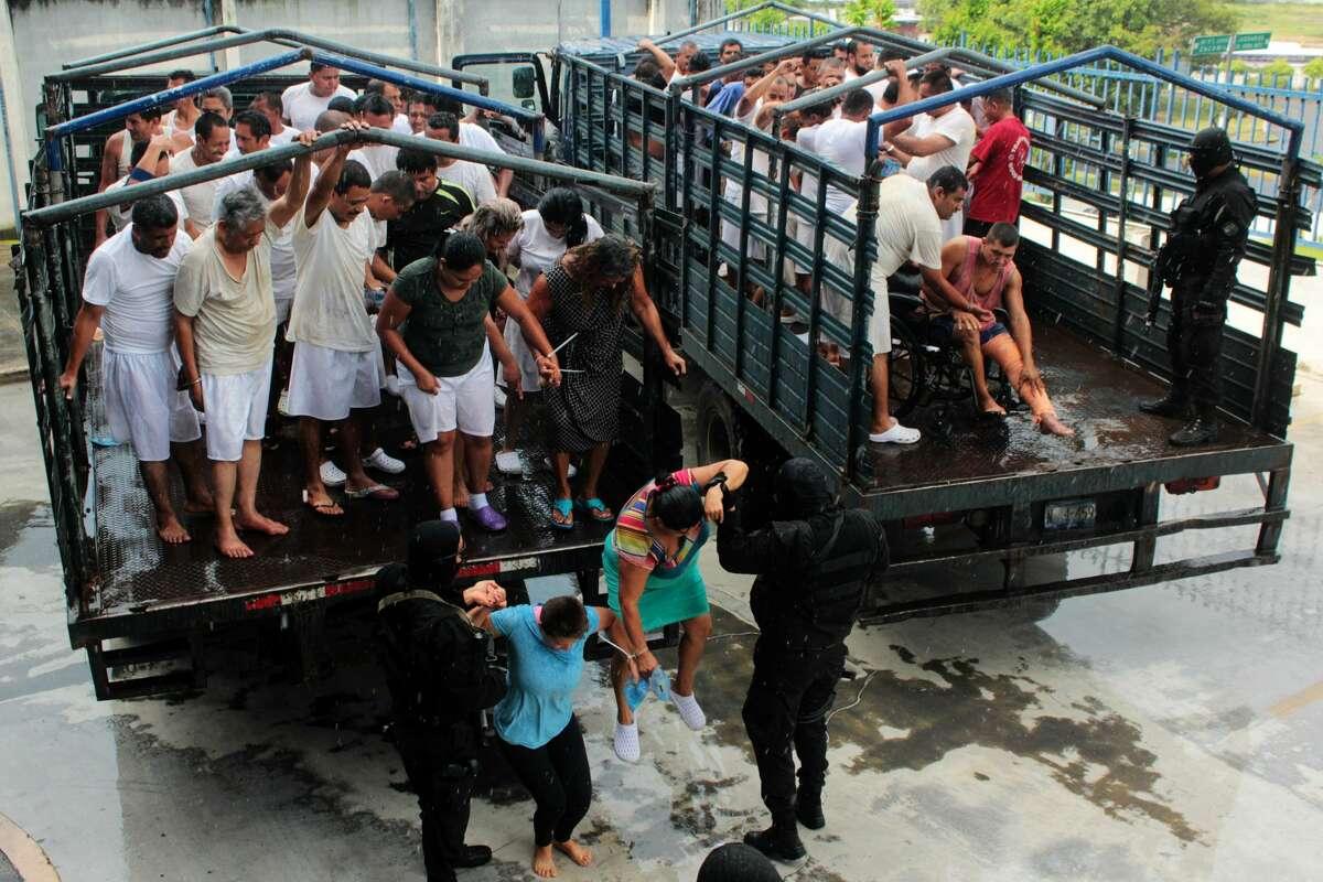 No. 24 - San Salvador Country: El Salvador    Population: 1,800,336    Homicides: 906      Homicide rate per 100,000 people: 50.32