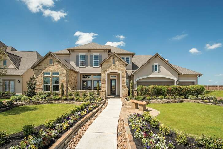 David Weekley Homes' Teff model home in Cinco Ranch – Ridgefield Heights is open daily for tours.