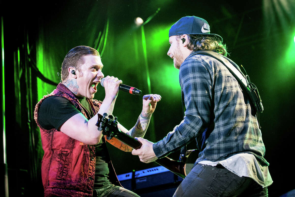 Shinedown performs at Rock'n Derby on May 22, 2016, in Schaghticoke.