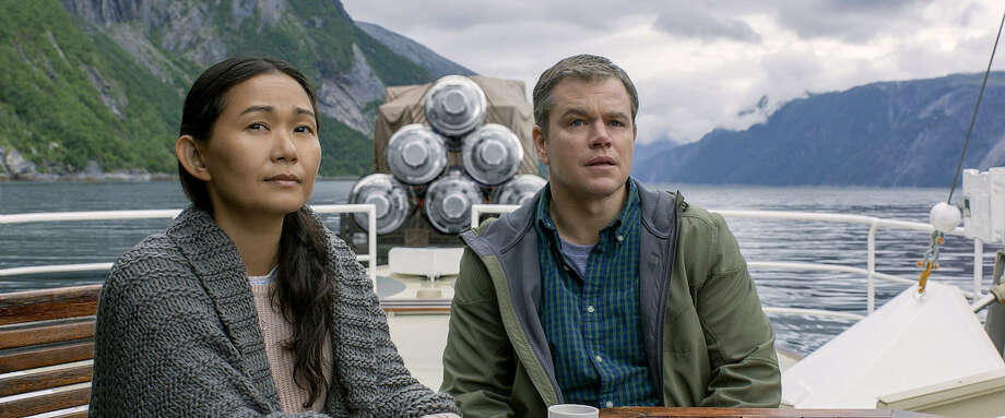 "In ""Downsizing"" Matt Damon becomes small and goes on a life journey that you just can't see coming."