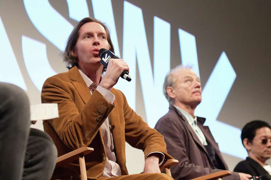 "AUSTIN, TX - MARCH 17:  Wes Anderson and Bill Murray attend the ""Isle of Dogs"" Premiere - 2018 SXSW Conference and Festivals at Paramount Theatre on March 17, 2018 in Austin, Texas.  (Photo by Matt Winkelmeyer/Getty Images for SXSW) Photo: Matt Winkelmeyer, Staff / 2018 Getty Images"