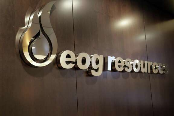EOG Resources in downtown Houston Thursday Sept. 25, 2014.
