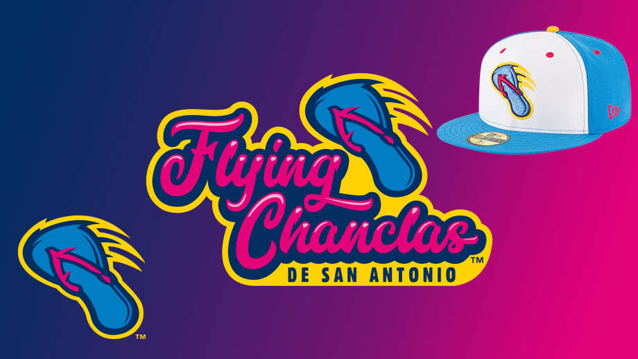 The San Antonio Missions minor league baseball team will become the Flying Chanclas de San Antonio for nine games during the 2018 season, Minor League baseball announced Photo: Minor League Baseball