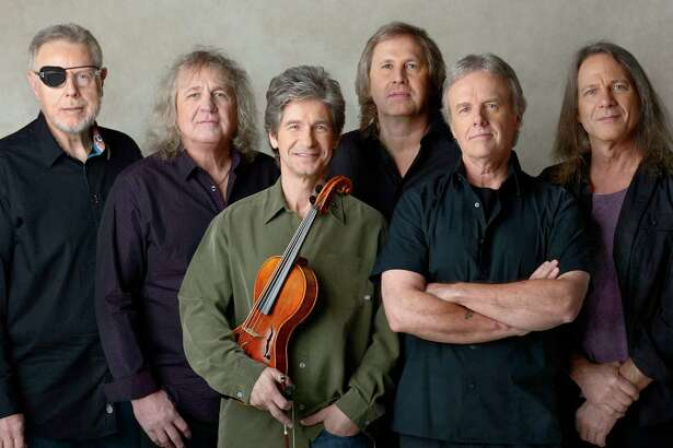 The iconic and classic rock band, Kansas, is set to perform at the historic Palace Theater in downtown Waterbury on Friday, Dec. 15.