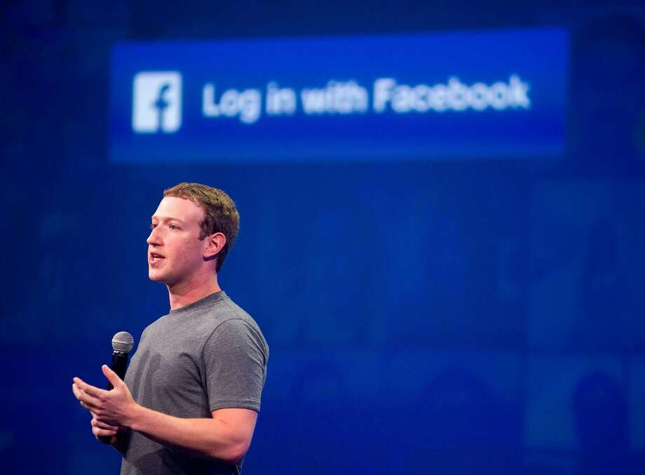 (FILES) In this file photo taken on March 25, 2015 Facebook CEO Mark Zuckerberg speaks at the F8 summit in San Francisco, California. Facebook shares plunged March 19, 2018 as the social media giant was pounded by criticism at home and abroad over revelations that a firm working for Donald Trump's presidential campaign harvested and misused data on 50 million members.Calls for investigations came on both sides of the Atlantic after Facebook responded to explosive reports of misuse of its data by suspending the account of Cambridge Analytica, a British firm hired by Trump's 2016 campaign.Democratic Senator Amy Klobuchar and Republican John Kennedy called for Facebook chief Mark Zuckerberg to appear before Congress, along with Google and Twitter's CEOs.  / AFP PHOTO / Josh EdelsonJOSH EDELSON/AFP/Getty Images Photo: JOSH EDELSON, AFP/Getty Images
