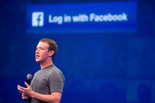 (FILES) In this file photo taken on March 25, 2015 Facebook CEO Mark Zuckerberg speaks at the F8 summit in San Francisco, California. Facebook shares plunged March 19, 2018 as the social media giant was pounded by criticism at home and abroad over revelations that a firm working for Donald Trump's presidential campaign harvested and misused data on 50 million members.Calls for investigations came on both sides of the Atlantic after Facebook responded to explosive reports of misuse of its data by suspending the account of Cambridge Analytica, a British firm hired by Trump's 2016 campaign.Democratic Senator Amy Klobuchar and Republican John Kennedy called for Facebook chief Mark Zuckerberg to appear before Congress, along with Google and Twitter's CEOs.  / AFP PHOTO / Josh EdelsonJOSH EDELSON/AFP/Getty Images