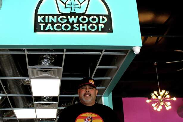 Kingwood Taco Shop Owner Gregory Mata expects to open his business sometime in the spring.