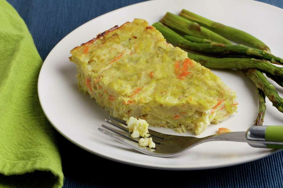 Leek and Potato Casserole (Quajado). Photo: Photo By Deb Lindsey For The Washington Post. / For The Washington Post