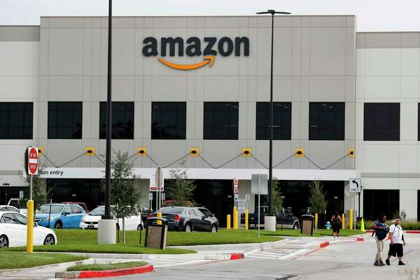 The Amazon warehouse complex is shown on Wednesday, Sept. 27, 2017, in Houston. ( Brett Coomer / Houston Chronicle )