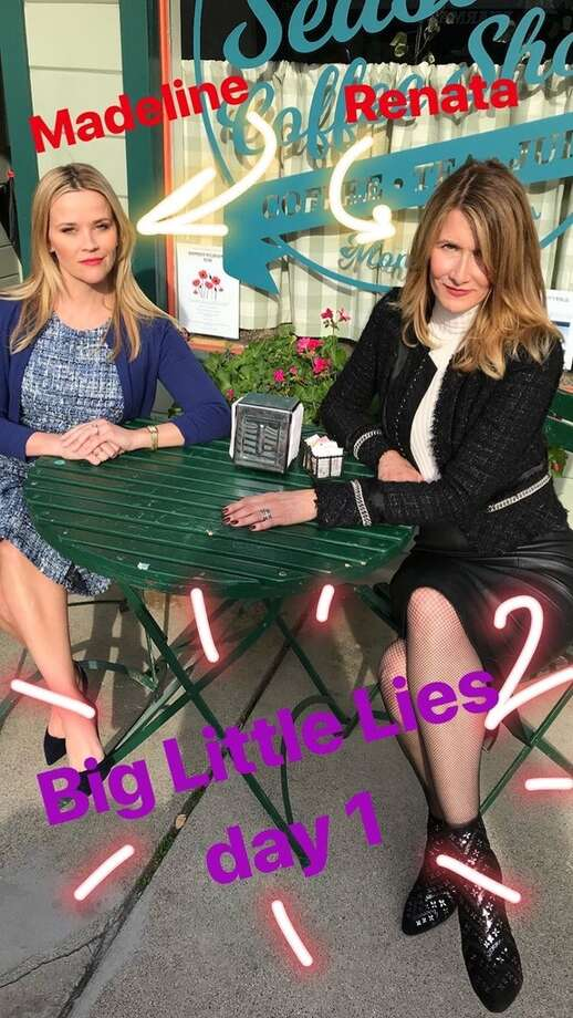 "The stars of ""Big Little Lies"" are filming again in Monterey, Calif. Photo: Social Media Screenshots"