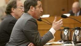 Glenn Hegar, Comptroller, Texas Comptroller of Public Accounts, speaks Tuesday March 20, 2018 at the Texas State Capitol in Austin. He testified to the Senate Finance Committee about a proposal to invest the rainy day fund in items that may yield better returns than the current investment plan.