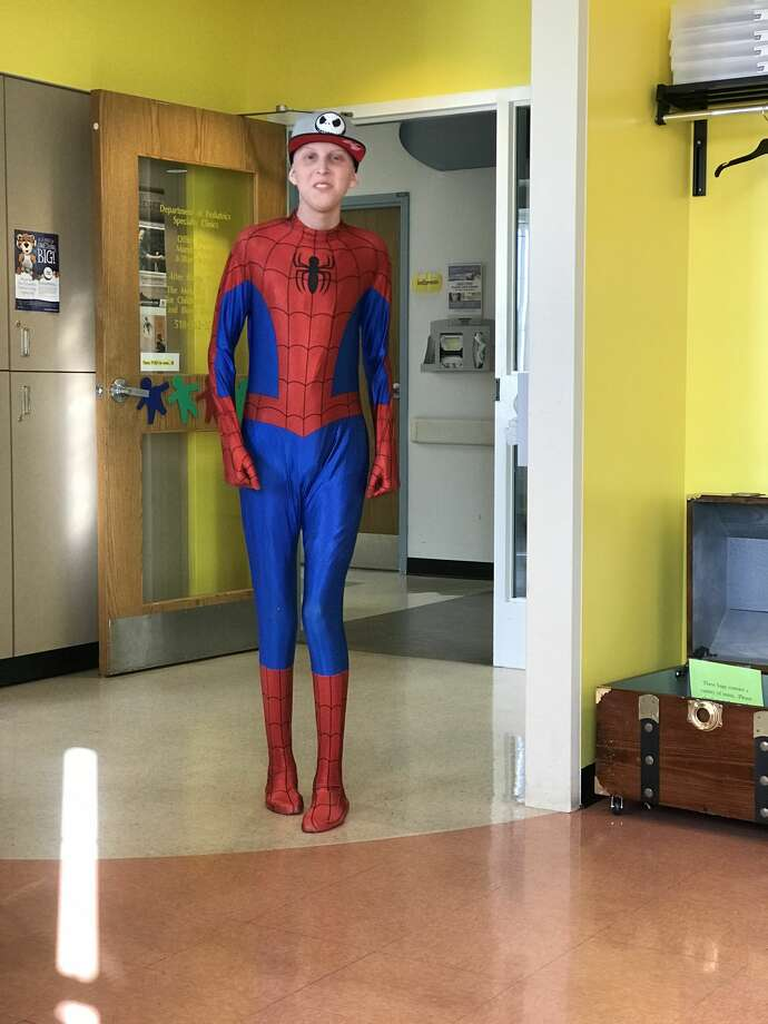 Jacob Monday, a Shenendehowa tenth grader, is battling terminal osteosarcoma. He's created a bucket list and his friends -- as well as people in the community -- are raising funds to help him complete each item. Photo: Courtesy Of Barbara Williams