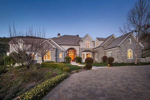3114 Blackhawk Meadow Lane in Danville has nearly 10,000 square feet of living space.�