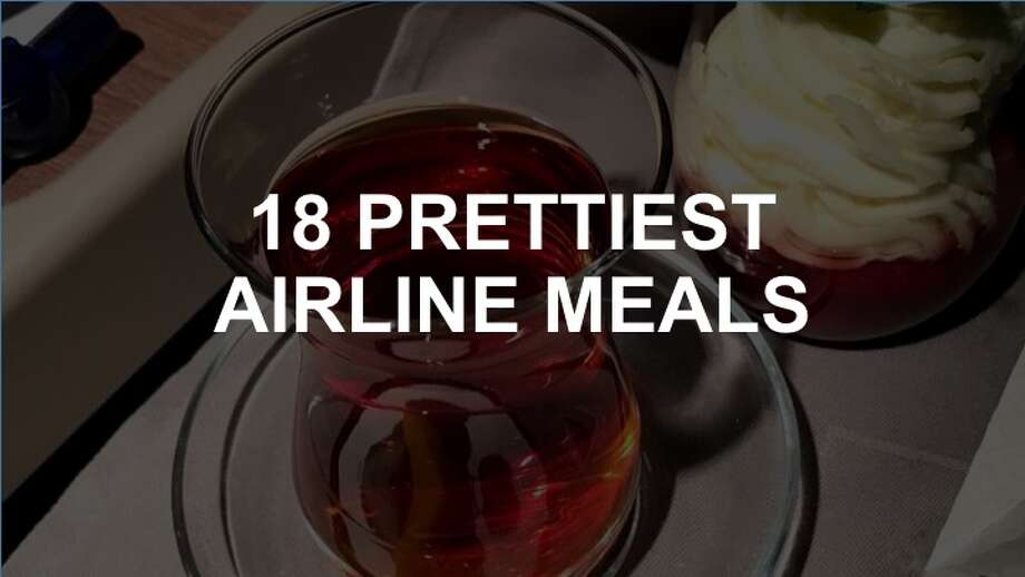 In recent years, airlines have improved their offerings, especially in business and first class. Click through the slideshow to see some of the most dazzling airline meals. Photo: Chris McGinnis