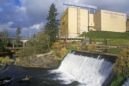 Tumwater Falls Park, the former home of Olympia Beer Brewing Company (Joe Sohm/Visions of America / Contributor / Getty Images)