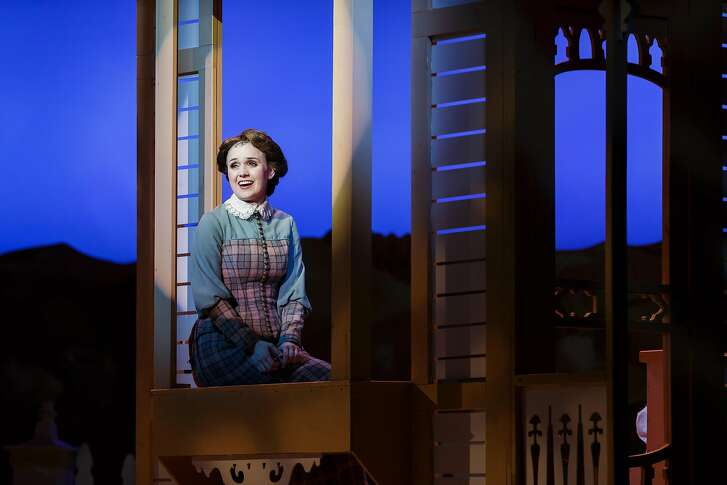 "Jennifer Mitchell as Marian Paroo in Broadway by the Bay's ""The Music Man."""