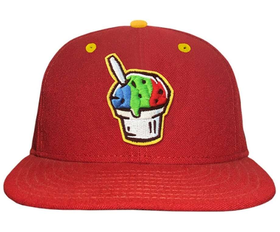 PHOTOS: A look at some caps 33 Minor League teams will wear as their new identity for the Copa de la DiversiónCorpus Christi Raspas (Snowcones)Corpus Christi Hooks Photo: MILB.com