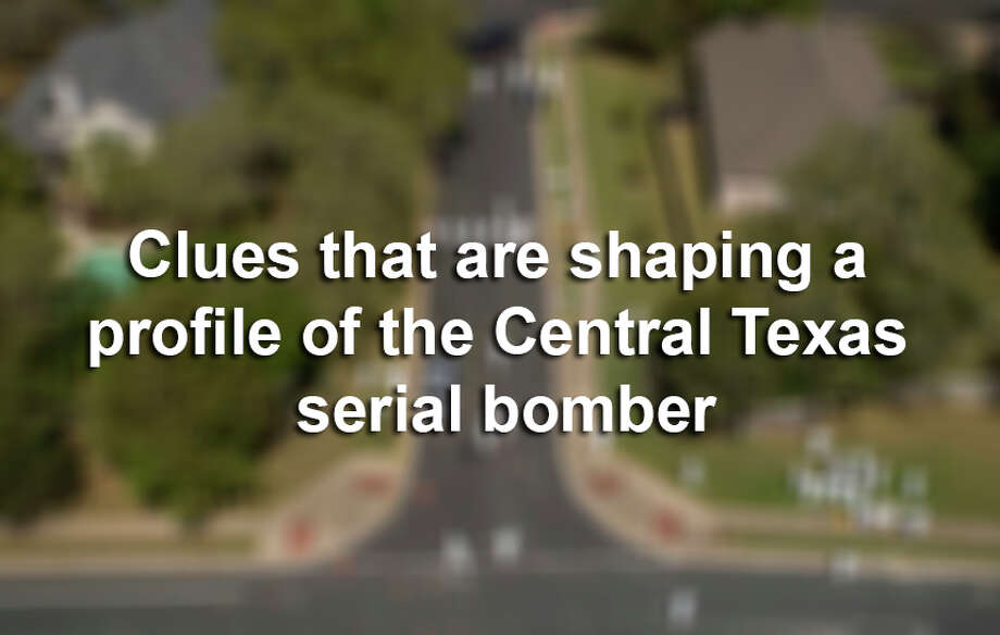 In the search for answers to a series of explosions in Central Texas, authorities have had little hard evidence that would lead them to a suspect. This is what they've gathered so far about the serial bomber terrorizing the Lone Star State. Photo: Jay Janner/AP