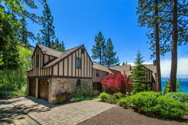 A lakefront estate known as Stone Creek on the Nevada side of Tahoe's east shore is on the market for $10.9 million.