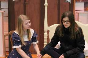 "Rehearsals for Warrensburg High School's production of ""The Secret Garden."""