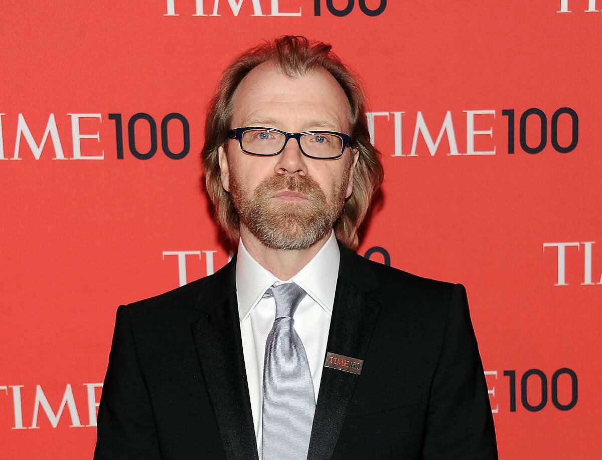 This April 23, 2013, file photo shows writer George Saunders at the TIME 100 Gala celebrating the