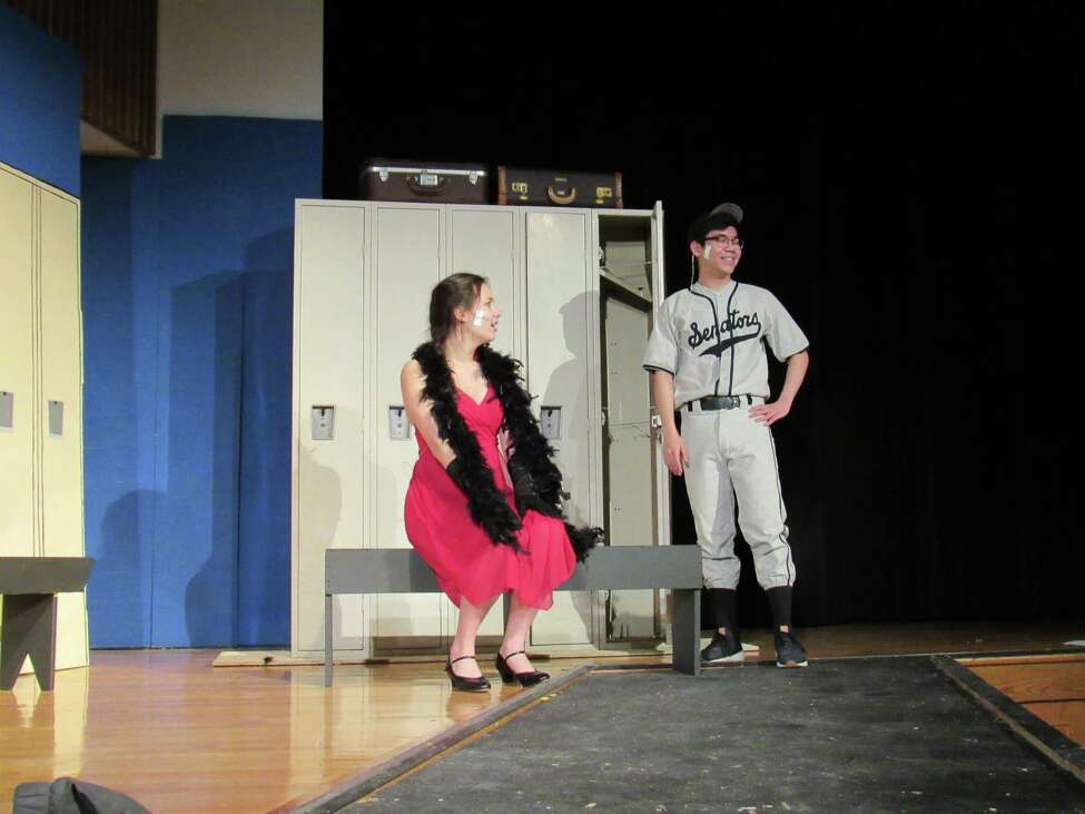 Rehearsals for Tamarac High School's production of