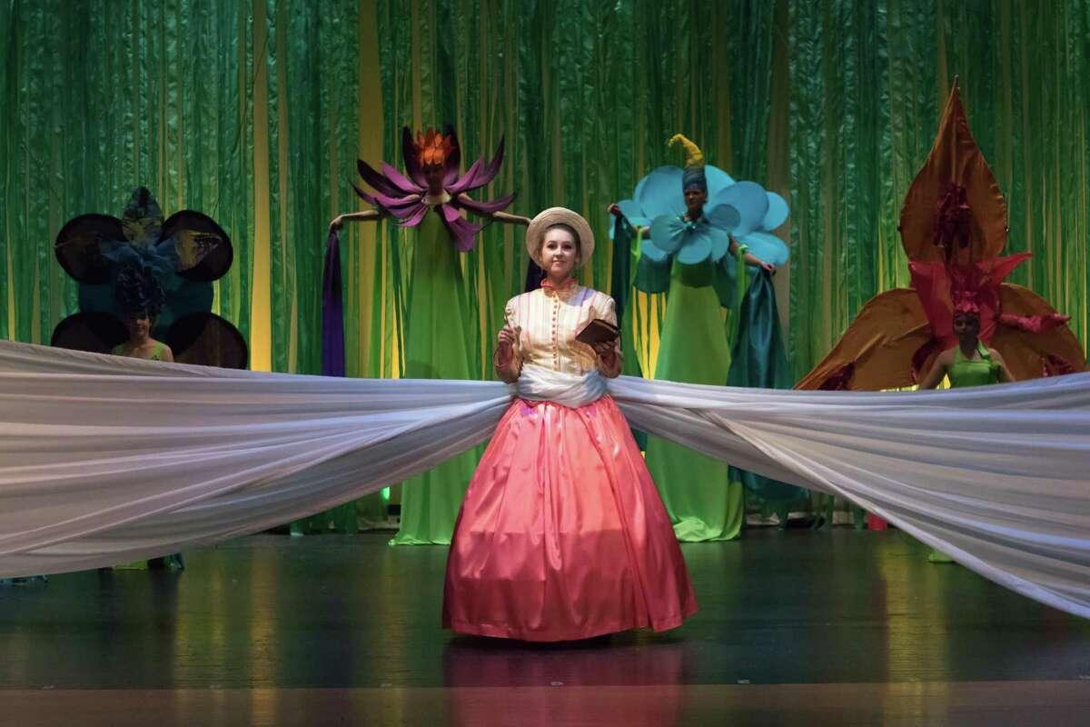 "Rehearsals for Voorheesville High School's production of ""Tarzan."""