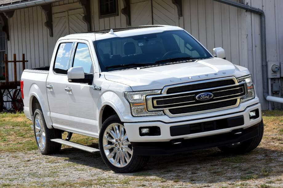 Ford's F-Series trucks, like this 2018 F-150 Limited, lead the pack when it comes to popularity with buyers. Photo: Ford