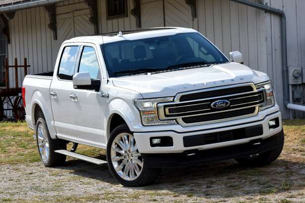 Ford's F-Series trucks, like this 2018 F-150 Limited, lead the pack when it comes to popularity with buyers.