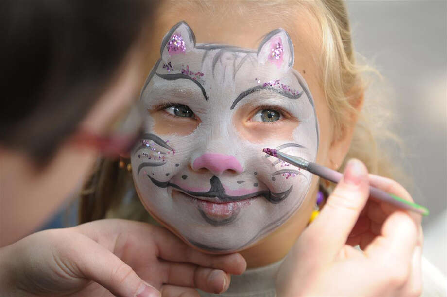 Face painting at The Lawn's Grand Opening Showcase. Photo: MetroNational