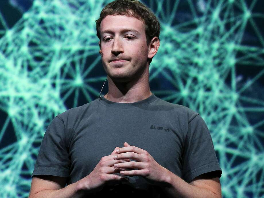 Facebook CEO Mark Zuckerberg pauses as he delivers a keynote address during the Facebook f8 conference on September 22, 2011 in San Francisco, California. Photo: Justin Sullivan, Getty Images
