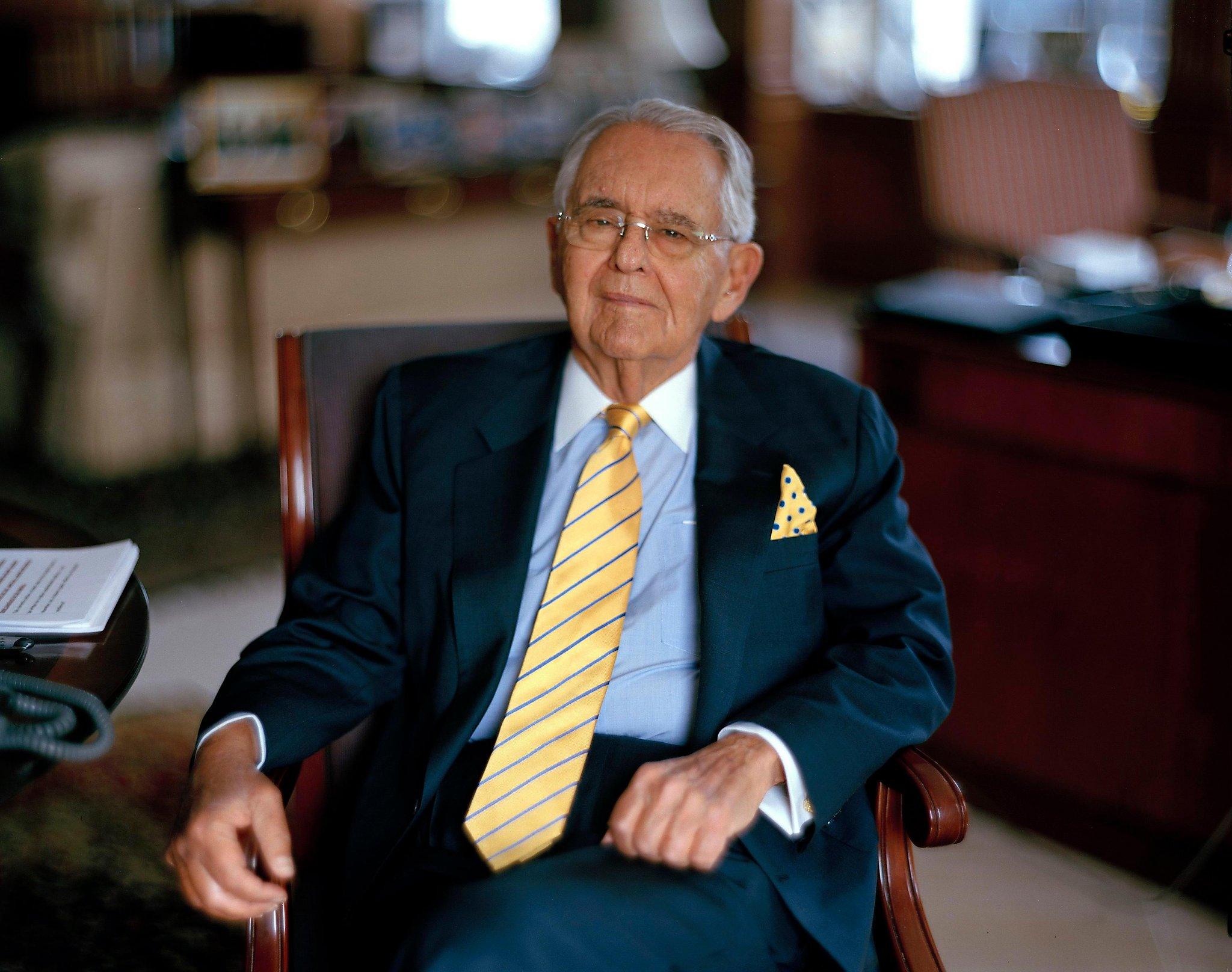 Peter Peterson, billionaire and philanthropist, dies at 91 | San Francisco Gate