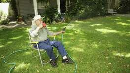 Follow SAWS recommended watering schedule, but use a handheld hose for areas that need more help.