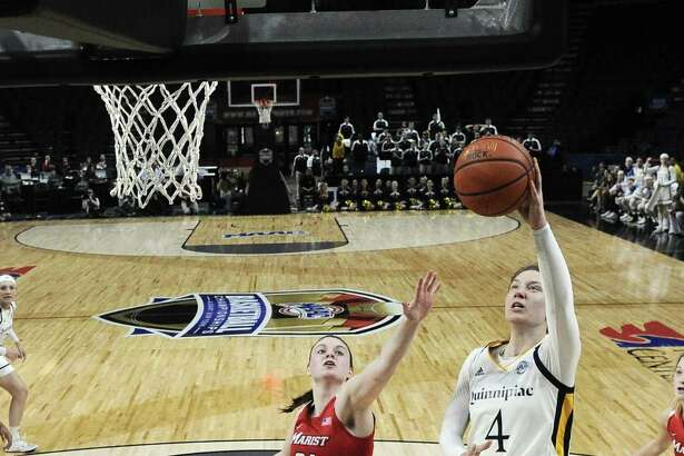 Quinnipiac forward Paula Strautmane is hoping to be a part of Latvia's World Cup team.