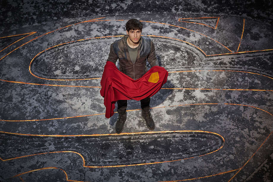 KRYPTON -- Season:1 -- Pictured: Cameron Cuffe as Seg-El -- (Photo by: Gavin Bond/Syfy) Photo: Credit: Gavin Bond/Syfy / 2017 Syfy Media, LLC. Credit: Gavin Bond/Syfy