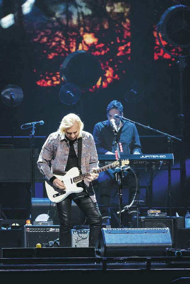 Joe Walsh performing with The Eagles this past Sunday at Scottrade Center. Photo: Photos Credit Of Keith Brake Photography|For The Telegraph