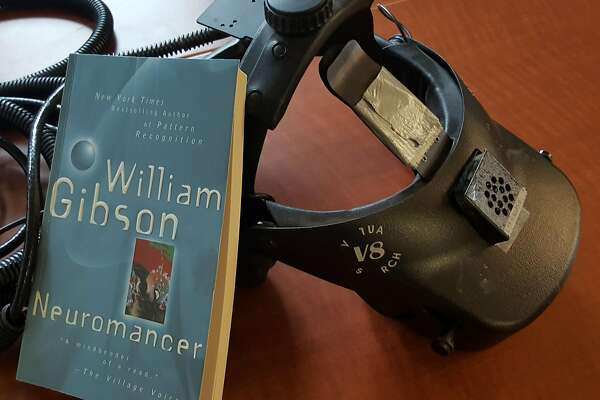 "�Neuromancer"" with a head-mounted display that Jeremy Bailenson used in 1999."