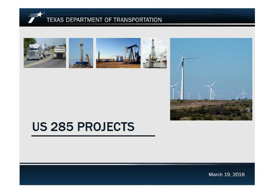 The Texas Department of Transportation Odessa District has big plans coming for U.S. Highway 285, a major artery for the oil and gas industry in the western Permian Basin. Photo: The Texas Department Of Transportation Odessa District