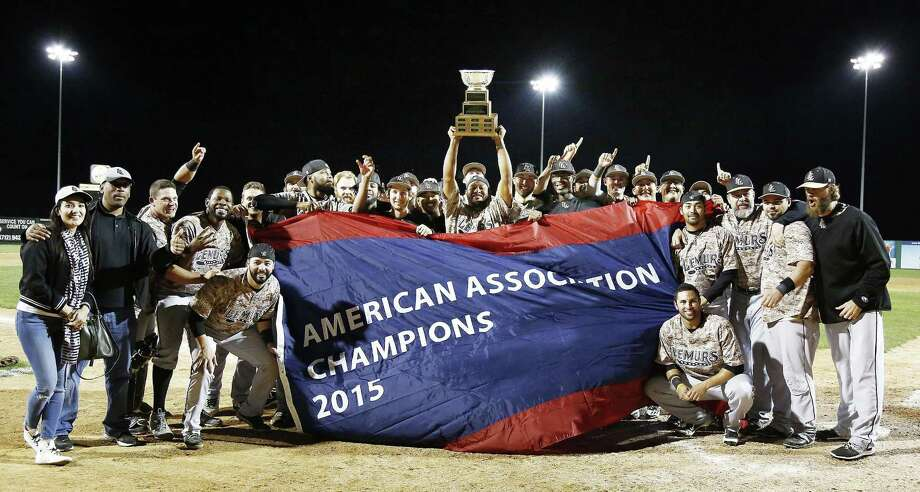 The Laredo Lemurs won their only American Association championship in 2015 besting Sioux City. The Lemurs won 56 percent of their games in five years in Laredo. Photo: Jim Lee /Sioux City Journal File / SIOUX CITY JOURNAL