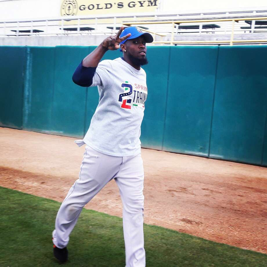 Tecolotes center fielder Jeremias Pineda played only 25 games with Veracruz last season and stole 25 bases, ranking fourth in the Mexican League. Photo: Courtesy Of The Tecolotes Dos Laredos