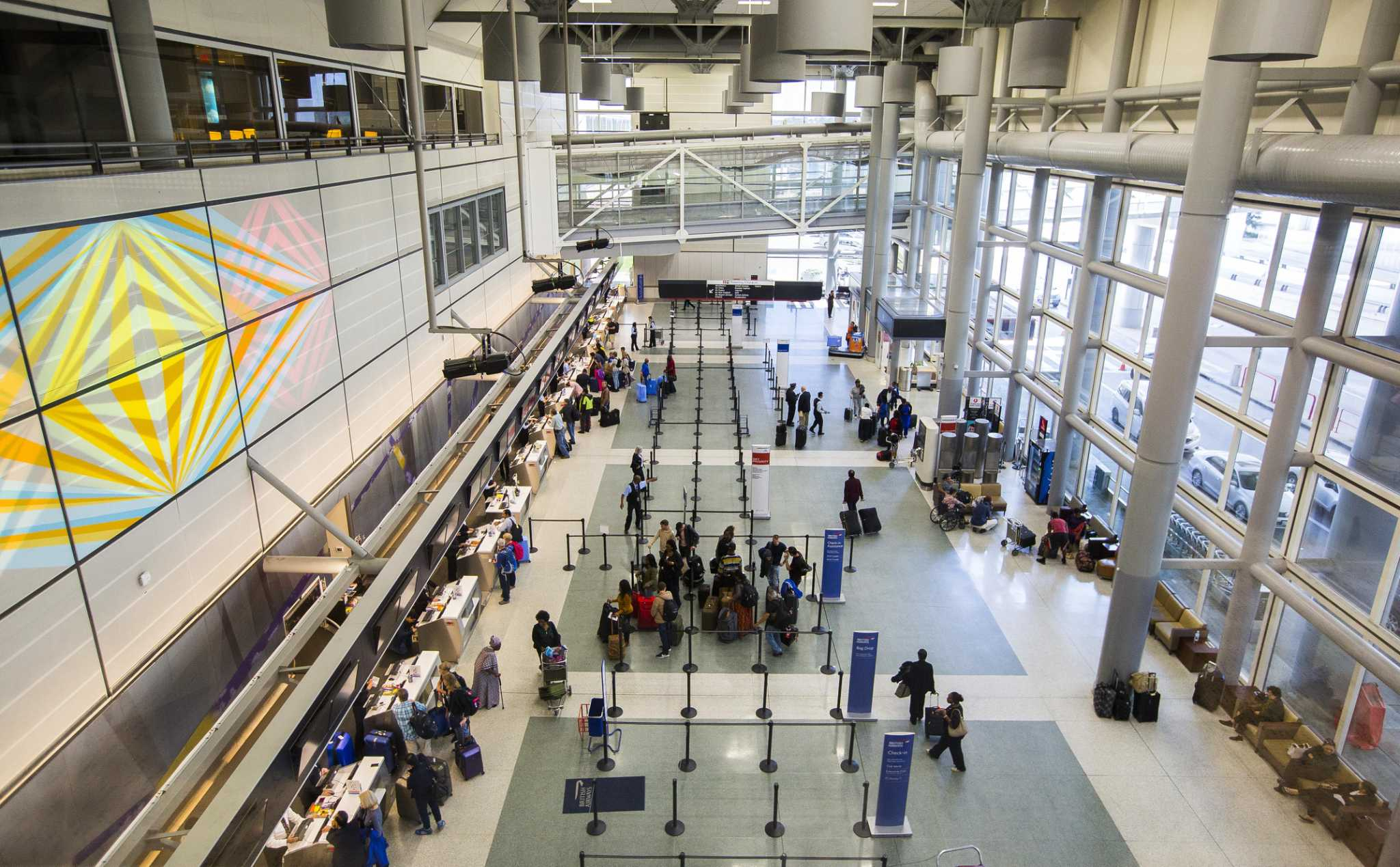 Image result for Bush IAH terminal d