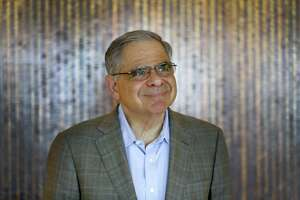 Stephen Chazen, the former CEO of Occidental Petroleum Corp., who is forming a new company in a $2.7 billion acquisition, Tuesday, March 20, 2018, in Houston.  ( Karen Warren / Houston Chronicle )